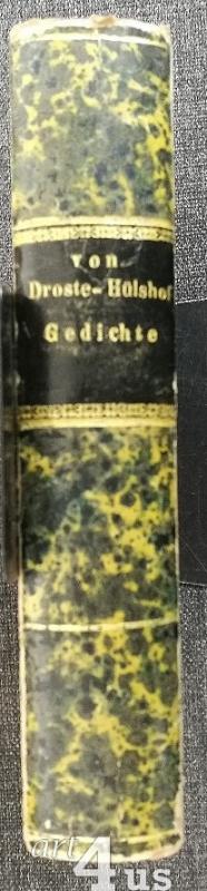 Annette von Droste-Hülshoff: Gedichte (Erstausgabe)