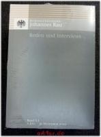 Bundespräsident Johannes Rau - Reden und Interviews