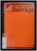 Filmwissenschaftliche Beiträge 4/79 - 20. Jahrgang.