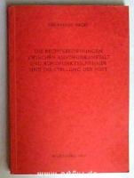 Die Rechtsbeziehungen zwischen Rundfunkanstalt und Rundfunkteilnehmer und die Stellung der Post - unter besonderer Berücksichtigung der Verhältnisse im Bereich des Bayerischen Rundfunks.