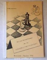 Der erste Revanchekampf um die Schachweltmeisterschaft : Botwinnik - Smyslow 1958