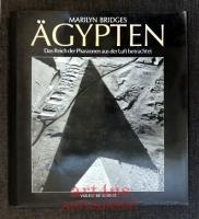 Ägypten - das Reich der Pharaonen aus der Luft betrachtet.