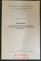 Die Balearen : Sozial- und wirtschaftsgeographische Wandlungen eines mediterranen Inselarchipels unter dem Einfluß des Fremdenverkehrs. Stuttgarter Geographische Studien, Band 88.