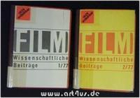 Filmwissenschaftliche Beiträge 1/77 u. 2/77 - 18. Jahrgang [komplett].
