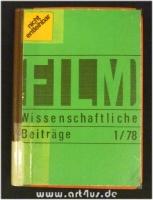 Filmwissenschaftliche Beiträge 1/78 - 19. Jahrgang.