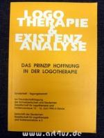 Das Prinzip Hoffnung in der Logotherapie : Sonderheft