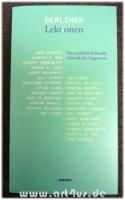 Berliner Lektionen 2000 - 2007 : eine politisch-kulturelle Chronik der Gegenwart.