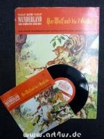 Der Wolf und die 7 [sieben] Geißlein : Das bunte Bilderbuch mit Schallplatte zum Lesen und Hören.