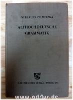 Althochdeutsche Grammatik.