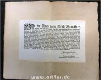 Frankfurt am Main 1755 : Verkauf von Artzney-Mitteln