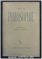 Archiv für Philosophie 3/1 : 3. Heft 1949