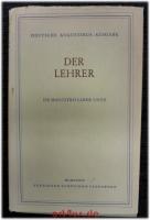 Aurelius Augustinus` Werke : Der Lehrer : De magistro.
