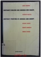 Abstrakte Malerei aus Amerika und Europa : Brice Marden