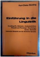 Einführung in die Linguistik.