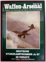 Deutsche Junkers JU 87 im Einsatz.