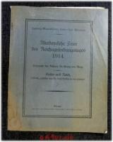 Akademische Feier des Reichsgründungstages 1914 : Ludwig-Maximilians-Universität München ; Ansprache des Rektors und Festrede.