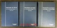 Allgemeine Geschichte der Musik ; Mit Bildern und Notenbeispielen. 3 Bände