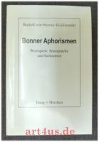 Bonner Aphorismen [signiertes Exemplar]