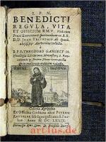 S.P.N. BENEDICTI REGULA, VITA ET OFFICIUM B.M.V. (1679)