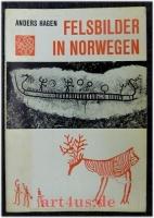 Felsbilder in Norwegen.