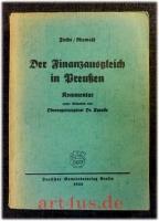 Der Finanzausgleich in Preußen