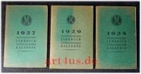 Astrologisches Jahrbuch und astrologischer Kalender : [3 Bände] 1927, 1928, 1929