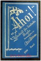 Ahoi ! : Zeitschrift Für Deutsche Segler ; 1. Jg. 1884