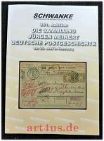 Die Sammlung Jürgen Meinert : Deutsche Postgeschichte ; 351. Auktion am 26. Juni in Hamburg.