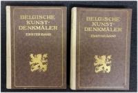 Belgische Kunstdenkmäler (2 Bände)