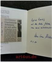 Die Flucht nach Abanon : Erzählung. [signierte Erstausgabe]