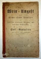 Das Wein-Umgelt der Reichs-Stadt Frankfurt 1803