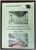 Aus der Chronik der Universitätsbibliothek.