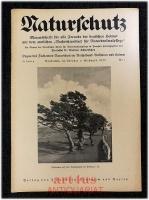 Naturschutz : Monatsschrift für alle Freunde der deutschen Heimat, 15. Jahrgang 1933 ; Nr. 1, mit dem amtlichen Nachrichtenblatt für Naturdenkmalpflege 11. Jahrgang 1933 ; Nr. 1