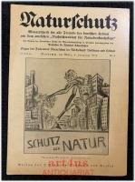 Naturschutz : Monatsschrift für alle Freunde der deutschen Heimat, 15. Jahrgang 1934 ; Nr. 6, mit dem amtlichen Nachrichtenblatt für Naturdenkmalpflege 11. Jahrgang 1934 ; Nr. 6