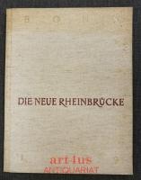 Bonn : Die neue Rheinbrücke 1949