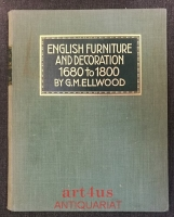 English Furniture and Decoration 1680 to 1800.