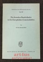 Die deutschen Bundesländer in den Europäischen Gemeinschaften.