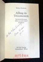 Alltag in Trizonesien : Spurensicherung, dabei an die Enkel denkend [signiertes Buch]