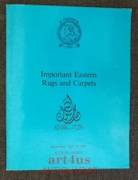 Christies April 1976 : Important Classical Rugs, Turkish Court Rugs, Turkish & Caucasian Village Rugs and Persian Silk Ruks & Carpets : from various sources.