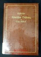 Geschichte der römischen Dichtung; Teil 3 : Dichtung der Kaiserherrschaft