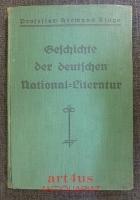 Geschichte der deutschen National-Literatur.