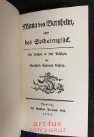 Minna von Barnhelm oder das Soldatenglück : ein Lustspiel in 5 Aufzügen.