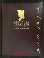 300 Jahre Preussen : Land, Geschichte, Post, Briefmarken