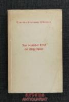 Aus deutscher Lyrik der Gegenwart : Festgabe der Deutschen Akademie München.