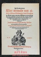 Im Frauwenzimmer wirt vermeldt von allerley schönen Kleidungen unnd Trachten der Weiber... ; Begleittext zur Faksimileausgabe: Jost Ammans Frauentrachtenbuch.