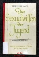 Das Sexualwissen der Jugend.