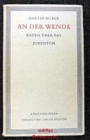 An der Wende : Reden über das Judentum.