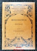 Herodotus Historiae : Herodoti Historiarum Libri IX, Vol. I, Fasc. II, Lib. III.IV