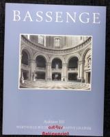 Bassenge : Wertvolle Bücher, Dekorative Graphik ; Auktion 101 ; 17. und 18. April 2013