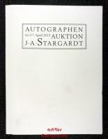 Auktion ; 16./17. April 2013 ; Autographen